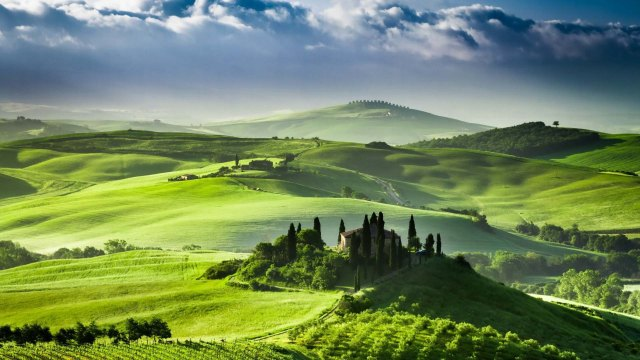 Landscape-Italy-Tuscany-Green-Hills-Hillside-Wallpaper-1920x1080